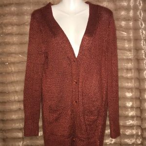Like new Mudd brand button up knit cardigan